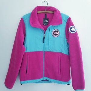 Vintage Northface Trans-Antarctica fleece jacket